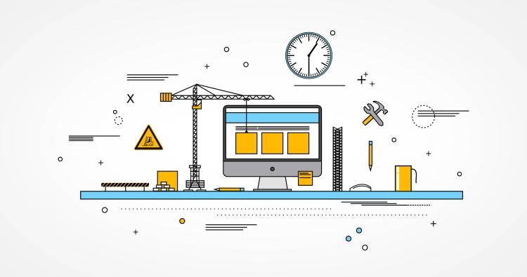 Imagem Grátis de Em Construção - Página Web ou Projeto em Co